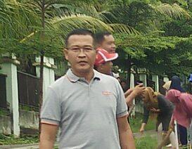 Sekretaris dinas Pendidikan Kabupaten OKU, Alfarizi, SE.Ak.