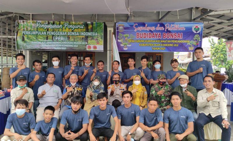 Photo Bersama dalam Kegiatan Pengukuhan Pelantikan ketua, anggota PPBI Kecamatan Pengandonan, Muara Jaya